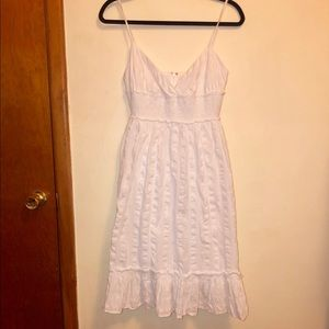 J CREW White Boho Sundress Size 4
